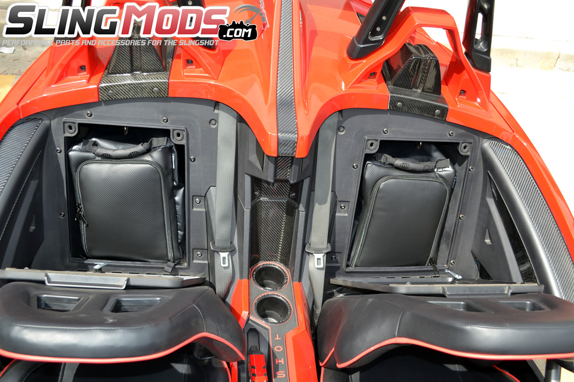Polaris Slingshot Rear Storage Compartment Overnight Bags