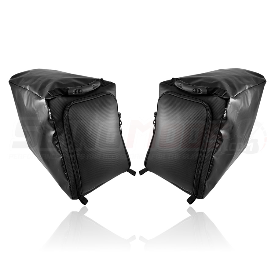 6ed8b9dcff Polaris Slingshot Rear Storage Compartment Overnight Bags by Status Racing
