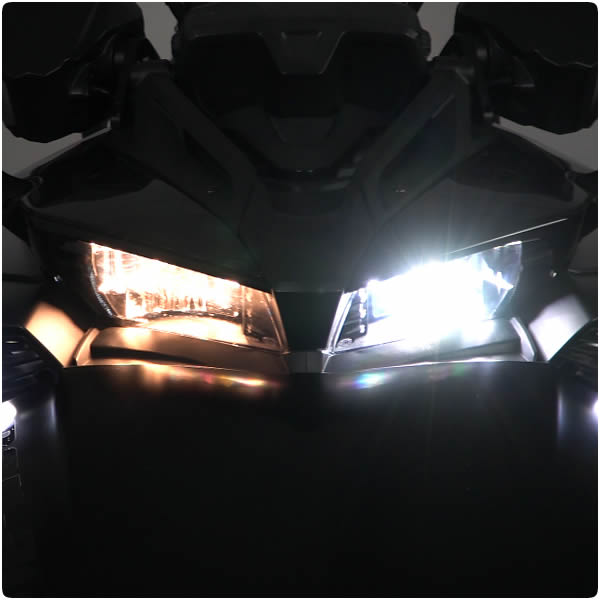 LED HD Elite Headlight Conversion Kit for the Can-Am Spyder F3 (Pair)