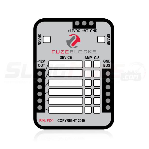 polaris slingshot fz 1 fuse block with wiring harness FZ 16 fz 1 accessory fuse block for the polaris slingshot