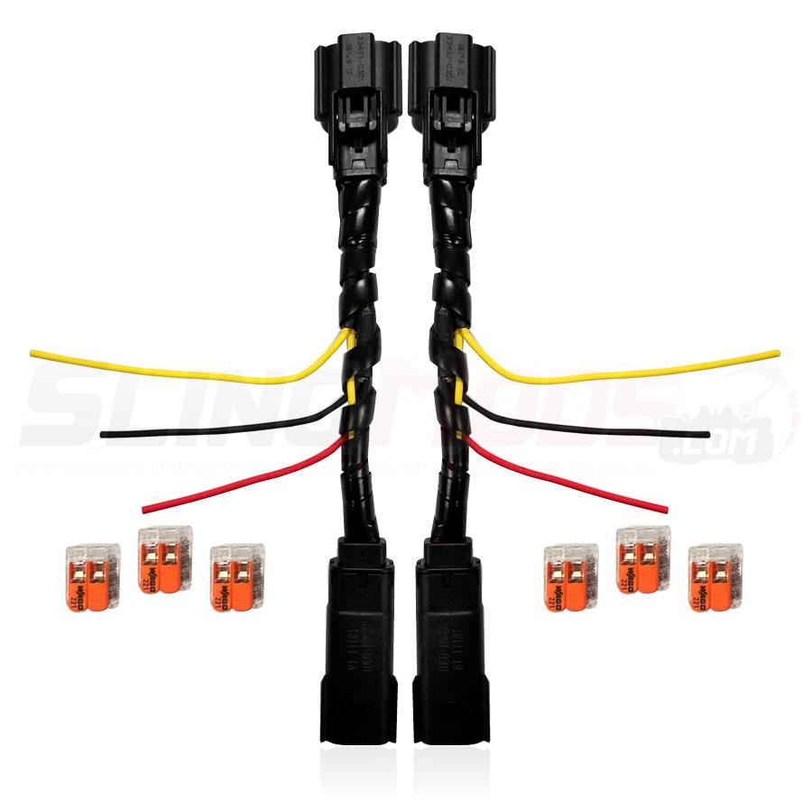polaris slingshot plug n' play blinker / running light integration harness
