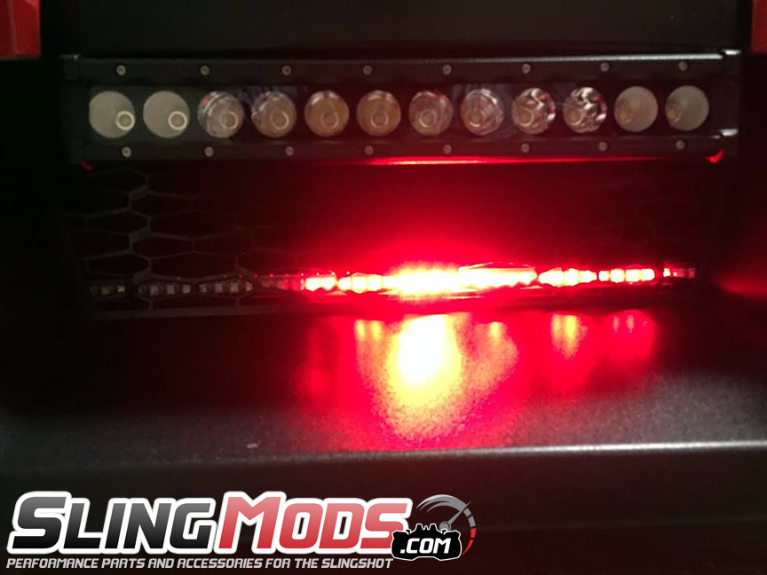 polaris slingshot rgb night rider light with remote