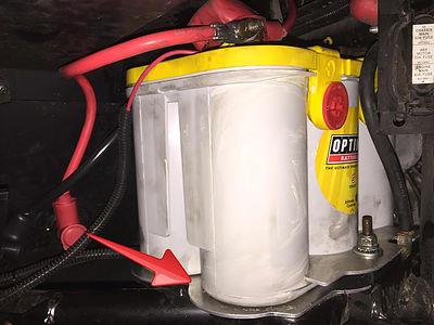 Optima Battery Charger >> Polaris Slingshot Optima Large Battery Box Upgrade