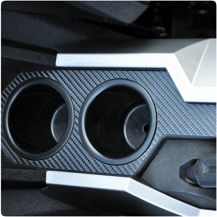 Polaris Slingshot Carbon Fiber Center Console Cover By