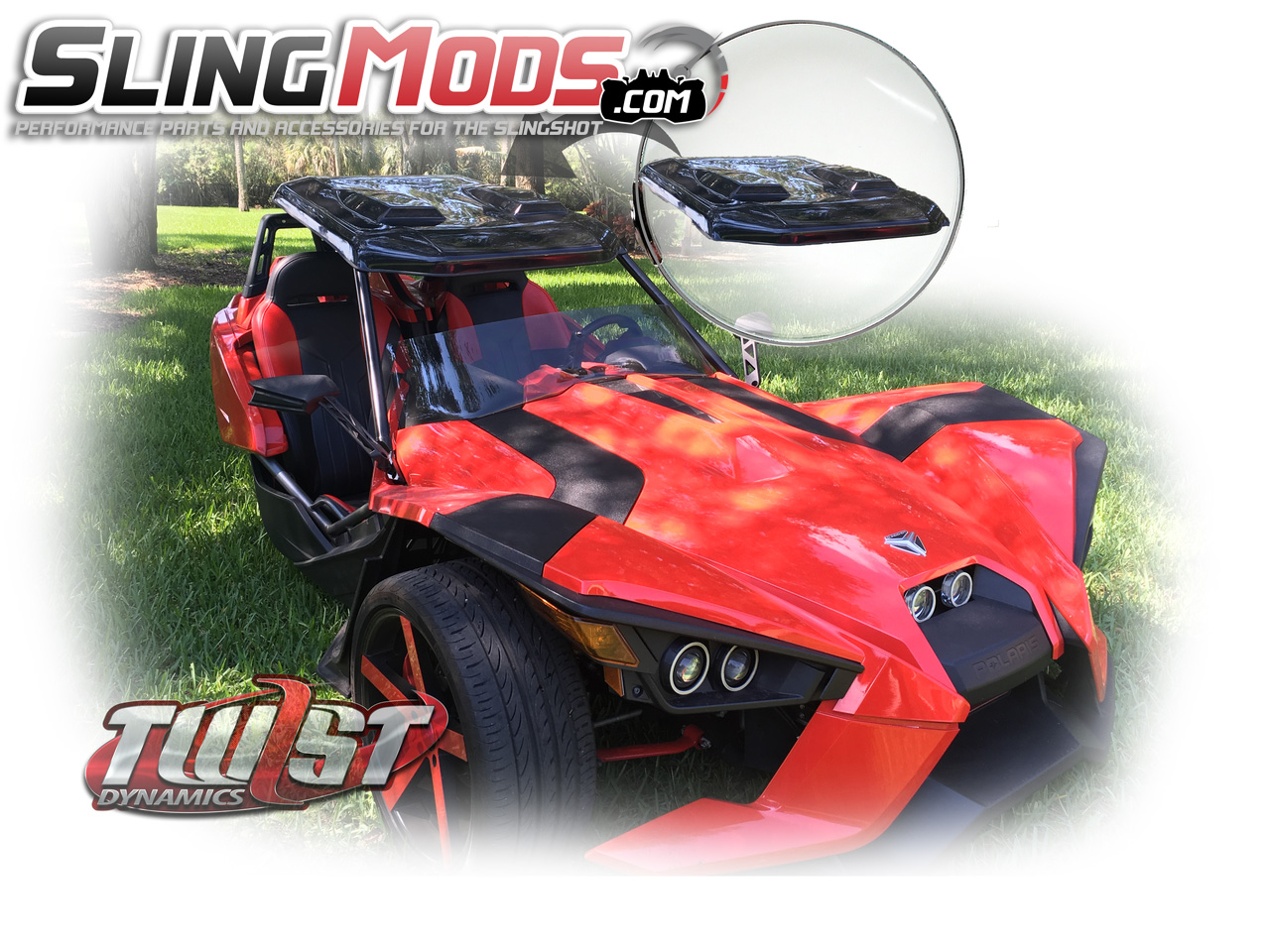Polaris Slingshot Hard Roof Top By Twist Dynamics