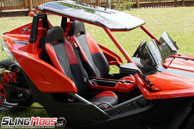 ... Twist Dynamics Gull Wing Roof Top For The Polaris Slingshot ...
