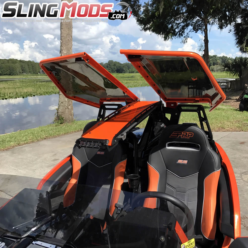 twist dynamics stinger roof top for the polaris slingshot - Polaris Slingshot Roof