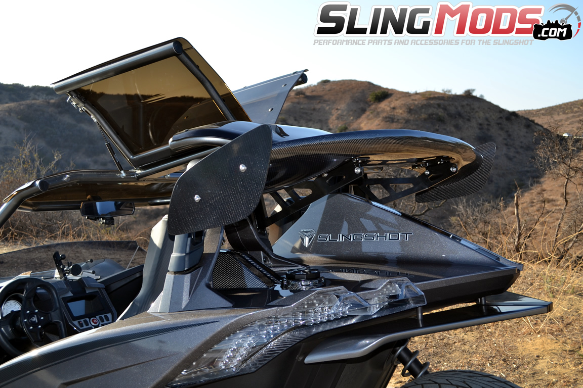 Polaris Slingshot Gull Wing Roof Top By Twist Dynamics