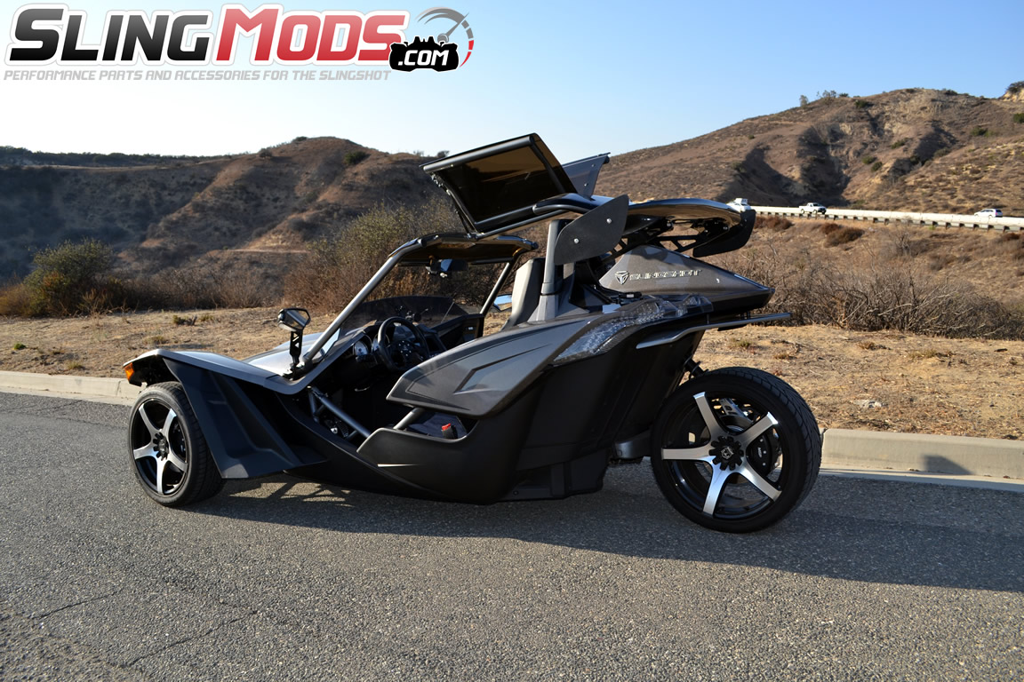 Polaris Slingshot Gull Wing Roof Top by Twist Dynamics