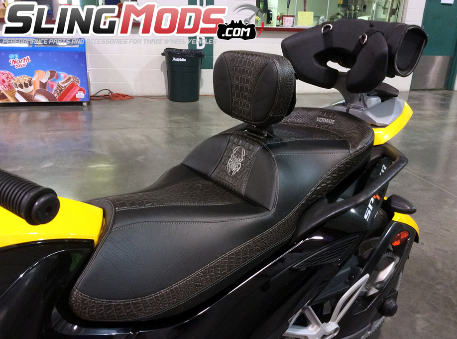 Ultimate Seats Custom Seat Builder For The Can Am Spyder