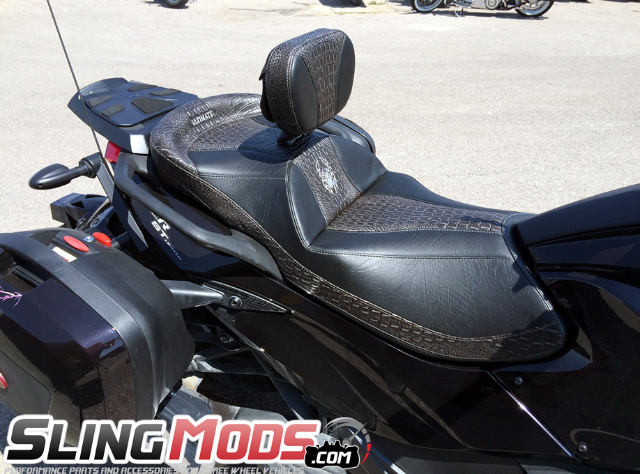 Ultimate Motorcycle Seats >> Ultimate Seats Online Custom Seat Builder For The Can Am Spyder Gs Rs