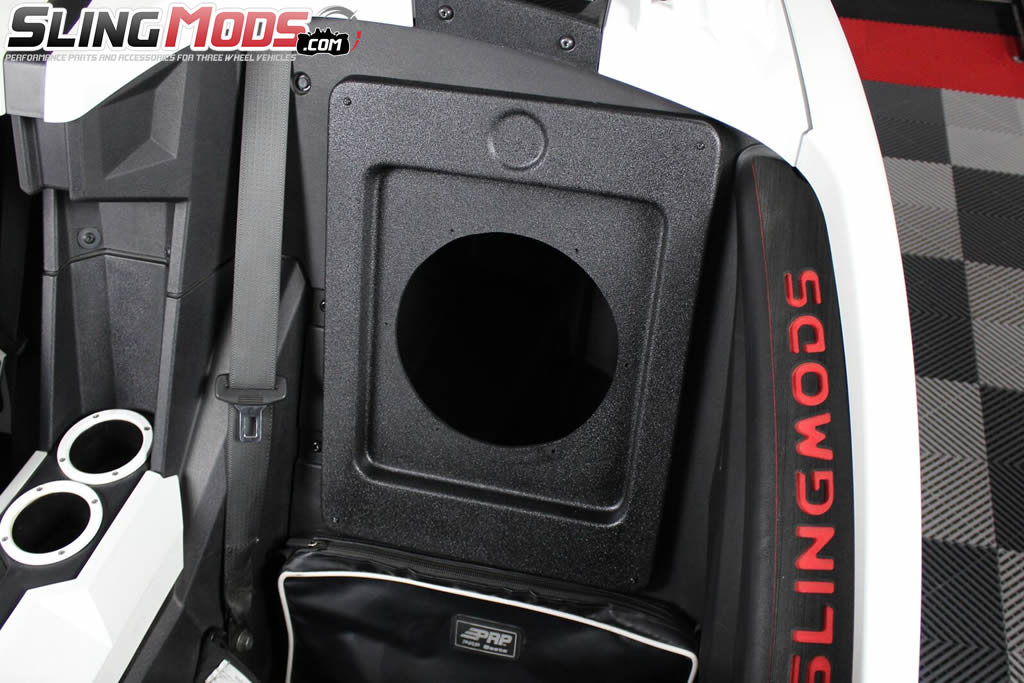 UnderGround Auto Styling Rear Storage Compartment 10