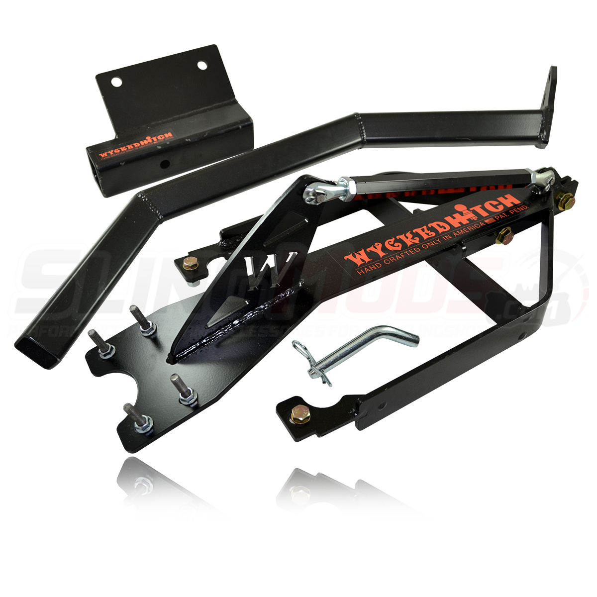 Wycked Hitch Trailer Hitch System for the Polaris Slingshot